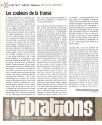 Article - Vibrations Page Scan